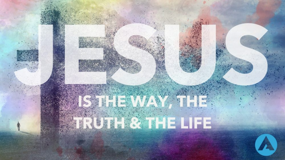 Jesus is the Way, the Truth and the Life Image