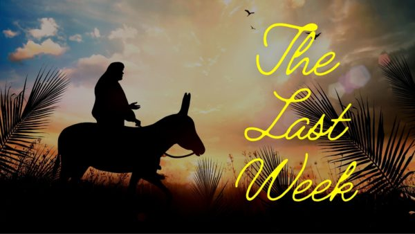 The Last Week - Sunday (Triumphant Entry) Image